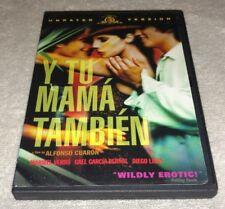 Y Tu Mama Tambien Dvd *Rare