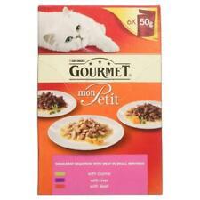 Gourmet Mon Petit Meat Selection Pouches Adult Cat Food 50g X 48