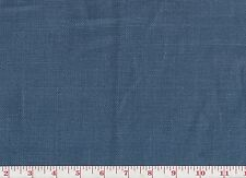 100% Linen Blue Clarence House Upholstery Fabric R$130yd Glazed Dundee Cl Denim