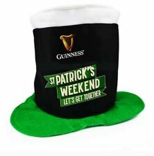 More details for 5 x brand new st patricks day guinness hat. pint fun party fancy dress costume