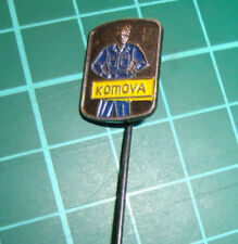 Komova vakkleding Putten - stick pin badge 60's Dutch speldje vtg