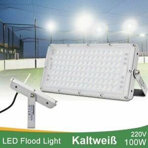 100 Watt LED Fluter Modul Flutlicht IP65 Außen Garten Fassadenstrahler Kaltweiß