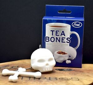 TEA BONES Skull Tea Infuser by Fred White