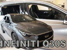 INFINITI Q30 S  2015 - 2019   5.doors  Wind deflectors 4.pc set  HEKO 21512