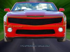 Fedar Fits 2010-2013 Chevy Camaro LT/LS/RS/SS Black Overlay Upper Billet Grille