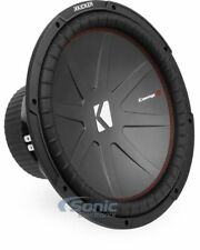 "Kicker CWR152 800W RMS 15"" CompR Series Dual 2-Ohm DVC Car Subwoofer Sub Woofer"