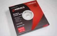 ABRACS ALUMINIUM OXIDE EMERY CLOTH ROLL 25MM x 50MTR 280 GRIT