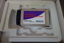 Senao NL-2511CD PLUS EXT2 802.11b high power long range pcmcia wlan adapter