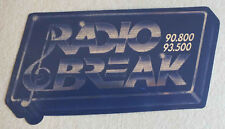 ANCIEN AUTOCOLLANT DE RADIO - RADIO BREAK 90.800 - 93.500 *