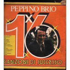 Peppino Brio Lp Vinile 16 Canzoni Di Successo / Discoring 2000 GXLP 1052 Nuovo