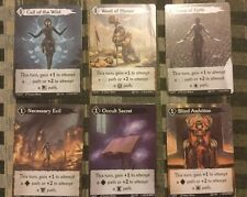 Call To Adventure - Super Rare Set of Six Kickstarter Exclusive Promo Cards NEW