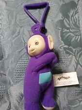 Teletubbies Tinky Winky plush backpack clip