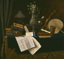 William Michael Harnett Ease Giclee Canvas Print Paintings Poster Reproduction