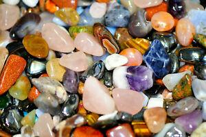 Wholesale Crystals Mixed 16-25mm Healing crystals tumblestones  25g to1kg Chakra