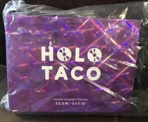 Holo Taco 1st Anniversary Collection no nail polish BOX ONLY Birthday