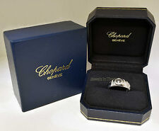 Chopard Happy Diamond Love Ring 18k White Gold Love Ring 7.5 82/2898