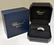 Chopard Happy Diamond Love Ring 18k White Gold Love Ring 7.5 82/2898