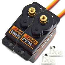 2 Pcs High Sensitive Emax ES08MD II Sub Micro Digital Servo for RC