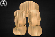 Seat Covers Covers for VW Beetle 1300-1303 Saloon, Camel Date Perforation New