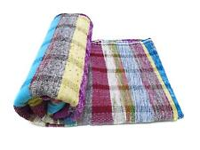 Carpet HandLoom Cotton Rag Rug Floor Yoga Mat Indian Eco Beach throw