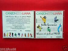 cd,canzone italiana,tutto sanremo,40 anni di festival 1965-68,caterina caselli,f