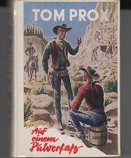 """Tom Prox-Buch  Nr. 134  """"Auf einem Pulverfaß""""   (Zust. 1-2)   Leihbuch"""