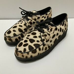Bronx Animal Print Lace-up Shoe Size 39
