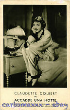 Postcard - Claudette Colbert - Cinema Attrice - Actress Movie Star - CC002