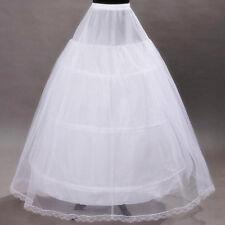 3cerceau 3couche Jupon pour Robe de mariée/soirée p25-G