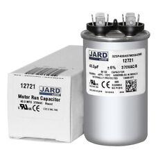 Made in the USA 440 VAC Round Run Capacitor AmRad USA2216 45 MFD x 370