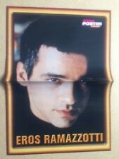 EROS RAMAZZOTTI Original Vintage Star Poster Fantasy German Magazine Poster 1998