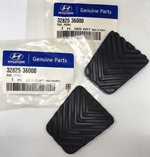 Genuine OEM Hyundai Brake & Clutch Pedal Pad Covers Set 32825 36000