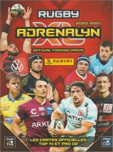 TOULOUSE - CARTE PANINI ADRENALYN XL - RUGBY 2020 / 2021 - TOP 14 - a choisir