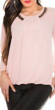 Maglie e camicie da donna bluse rosi viscosi