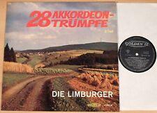 DIE LIMBURGER - 28 Akkordeon-Trümpfe 2.Teil  (GOLDEN 12 / LP vg++/m-)