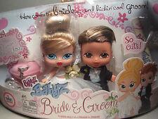 NIP Bratz Babyz Bride And Groom Baby Dolls Target Exclusive Wedding Cake Topper