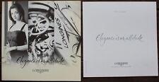 """""""Elegance is an attitude"""" Catalogue Montres LONGINES coll. 2006 + Liste des Prix"""