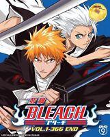 DVD  Bleach (Vol. 1-366 End) Good English Sub Complete collection + Bonus DVD