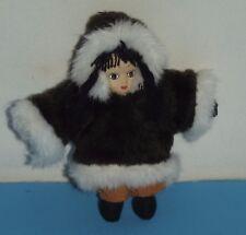 "Alaska Souvenir Eskimo Figure about 5"" Vintage"