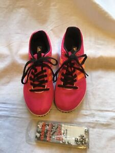 Adidas girls running spikes  UK1 excellent  used condition