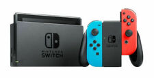 Nintendo Switch Neon Blue and Red Joy Home Console