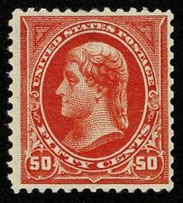Scott#275 50c President Thomas Jefferson 1895 Mint H OG