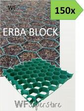 Grigliato salvaprato salvaverde in plastica carrabile ERBA BLOCK - 150 pezzi