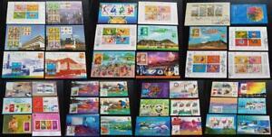 Hongkong 1988-2003 selection of 42x S/S Souvenir Sheets used mixed quality