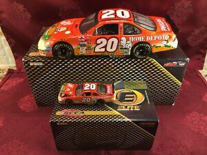 TONY STEWART #20 The Great Pumpkin 2002 RCCA 1/24 Elite 1/64 HO Car Diecast  SET