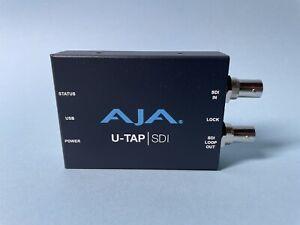 AJA UTAP SDI Simple USB 3.0 Powered SDI Capture Device