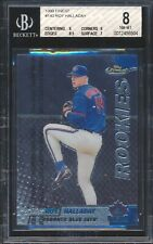 1999 Topps Finest 140 Roy Halladay W/ Coating RC Rookie BGS 8