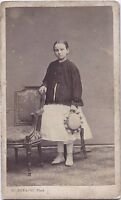 Henri Panajou Fotografia Primitivo Bordeaux Francia CDV Vintage Albumina Ca 1865
