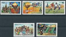 Lesotho - Olympische Sommerspiele Moskau Satz postfrisch 1980 Mi. 291-295