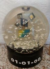 Millennium Snow Globe 01-01- 00 Collectible Globe Vintage Its Coming